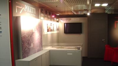 ST0009/CANNES MIPIM04 - STAND GRUPPO POLETTI